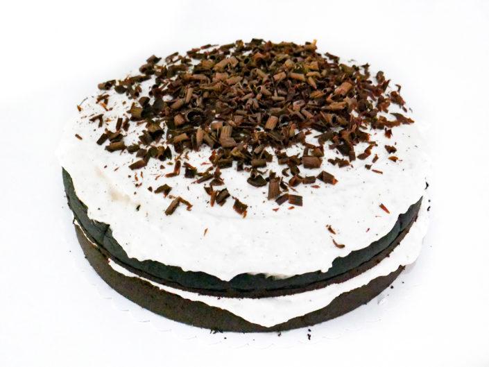 Čoko-vanilkový dort