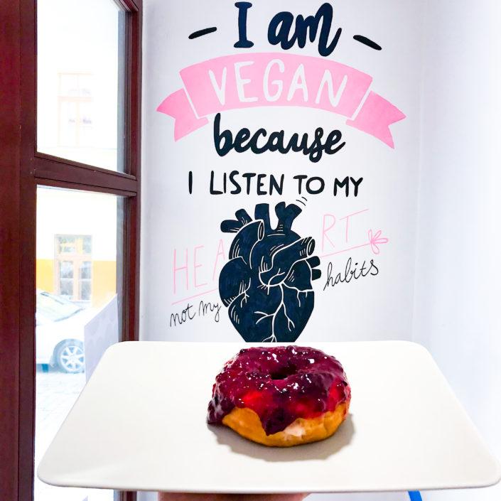 100% Vegan Donuts